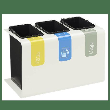 TRIBU - Borne de tri sélectif design pour bureaux